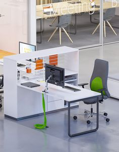 Play&Work - In a contemporary  office people change their work styles smoothly. Play&Work ensures an office arrangement that gives employees a chance to choose the place where they perform their everyday duties. Its modularity enables you to save space. The unique design and great functionality support your employees' creativity. The Play&Work furniture system  was awarded the Red Dot Design Award in 2016. #PlayandWork #RedDot2016 #CDW2017
