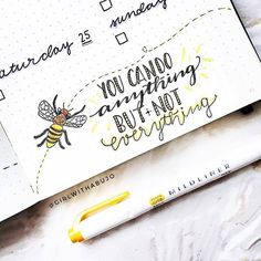 Let just continue on with the bee theme. Beeeeeautiful. #Repost @girlwithabujo ・・・ This week is really busy and I didn't have any time to do bujo stuff But this little quote keeps me going Always remember to stay motivat