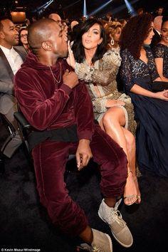 Kimye on Grammy's