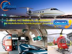 Avail the benefits of Air ambulance in a very cost-effective manner which is now available in Delhi. For many years, patients from the air ambulance services in Delhi shift from your patient's one city to the other city's hospital are safely shifting. And it offers a bed to bed service.