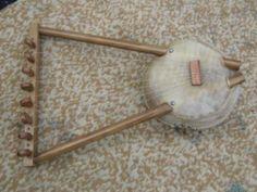 Nyatiti,lira,arpa Africana De Mate Cuero Y Madera 8 Cuerdas - U Musical Instruments, Musicals, Home Decor, World, Ropes, Music Instruments, African, Wood, Decoration Home
