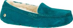 UGG Australia Womens Ansley Ornate Slipper Deep Teal Size 5 ** You can find more details by visiting the image link.