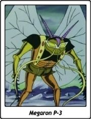Megaron P-3 / Yokoi P-3 / Mazinger Z / 1972 / TV Serie / Anime / Brutos Mecánicos
