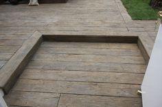 Completed - Millboard vintage oak composite decking at Sure start centre in Wilton Sliding Windows, Casement Windows, Sage Green House, Pvc Cladding, Hardwood Decking, Decking Area, Sloped Garden, Lake Cabins, Composite Decking