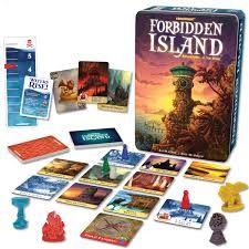 FORBIDDEN ISLAND Age: 9+ Players: 2-4 Develops: Teamwork/Cooperation, Strategy