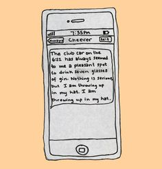 Paris Review – Drunk Texts from Famous Authors: John Cheever