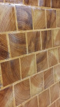 Gothic Home Decor End Grain Cobble Blocks Great for Source by parketdom. End Grain Flooring, Diy Flooring, Flooring Ideas, Cordwood Homes, Wood Mill, Glass Floor, Gothic Home Decor, Gothic House, How To Antique Wood