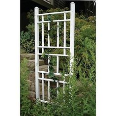 Got 3 of these for my new climbing rose bushes! Assembly required!