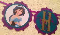 Princess jasmine favor tags by NiuDesigns on Etsy