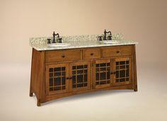 craftsman bathroom vanity | Picture: McCoy Bathroom Vanity provided by  Alegacy Furniture Pottstown .
