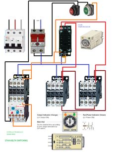 wiring diagram for star delta motor starter att uverse support control circuit of electrical info pics non switching engineering blog plan