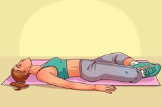 Make this move before bedtime You will sleep like a baby Hata Yoga, Happy Baby Pose, Ways To Fall Asleep, Fish Pose, Reducing High Blood Pressure, Sleeping Pills, Chronic Fatigue, Go To Sleep, Easy Workouts