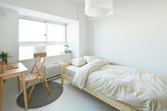 Simple minimal  muji style room @jacintachiang
