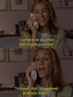 oh how i miss carrie bradshaw and satc
