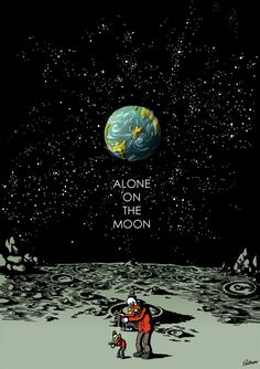 Alone On The Moon