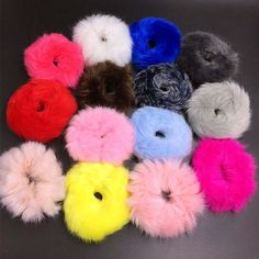 Accessories for braids Soft Fluffy Faux Fur Fuzzy Scrunchie Elastic Hair Ring Rope Hair Accessories . Hair Rubber Bands, Elastic Hair Bands, Bohemian Hairstyles, Diy Hairstyles, Mehndi Dress For Bride, Fur Headband, Knot Headband, Diy Hair Scrunchies, Latest Mehndi