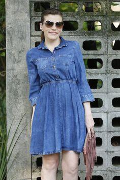 juliana ali vestido jeans riachuelo look 3 - Juliana e a Moda | Dicas de moda e beleza por Juliana Ali