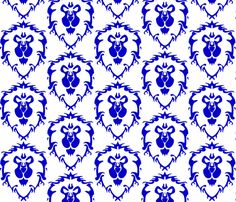 For The Alliance Fabric By Nerdbaitplus3 On Spoonflower Custom Fabric Fabric Shop Custom Fabric