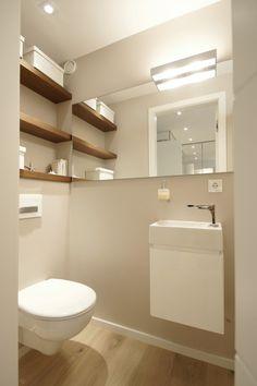 Elternbad Regal über WC
