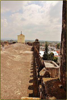 Ex Convento Agustino de San Juan Bautista,Yecapixtla,Estado de Morelos,México