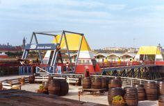 British Steel Bridge at the 1988 Glasgow Garden Festival