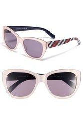 kate spade new york 'kia' 54mm cat eye sunglasses available at Nordstrom.
