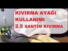 Kıvırma Ayakları Kullanımı 2.5 cm Kıvırma Seti - YouTube Janome, Singer, Youtube, Instagram, Singers, Youtubers, Youtube Movies