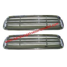 Air Flow Cap Mesin Hilux 2012  1 Set : 2 pcs. Bahan : Plastik ABS. Fungsi : Hiasan Variasi pada Cap Mesin Mobil Hilux 2012. Warna : Chrome, Sesuai Gambar. Pemasangan : Bisa Dipasang Sendiri, sudah tersedia lem, tinggal ditempel Harga : Rp 372.500. Diskon : 10%. Harga Setelah Diskon : Rp 335.000.  Berat Packing : 1 kg  Order Call / SMS / WA : 0896-6105-1299. BBM : 526FC5B2 (NEW) / 2B2E9B22  #airflow   #variasimobil   #aksesorismobil   #eksterior