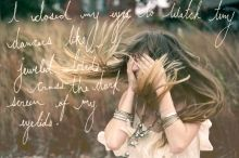 Thumbnail image for Monday Quote: I Closed My Eyes To Watch Tiny Dancers