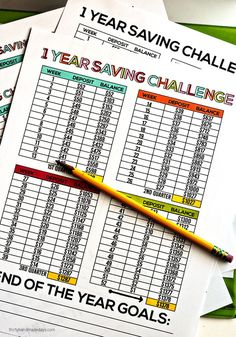 Year Savings Challenge from Thirty Handmade Days and Take a look at these 20 Must Have Home Printables to get you Organized for the New Year on Frugal Coupon Living.
