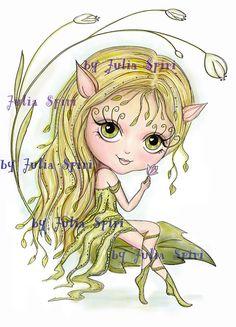 Sello digital, páginas para colorear Mi elfa ( ͡° ͜ʖ ͡°) © JuliaSpiri  Todos los dibujos están registrados en Copyright Office.  Diviértete coloreando