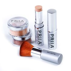 Mineral Foundation BFF's! #priiacosmetics #makeup #acne #beauty