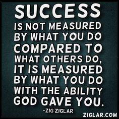Measure of Success | Ziglar