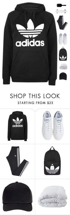 """""""Staycation"""" by genesis129 ❤ liked on Polyvore featuring Topshop, adidas, Miss Selfridge, Soft-Tex, GHD, vintage, Summer and staycation"""