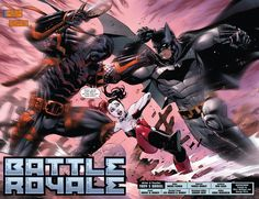 DC says its the most brutal battle in the history of the New 52. See the start of it here.
