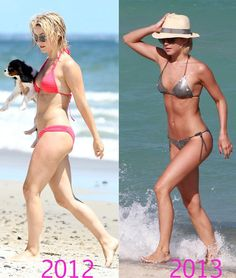 Julianne Hough in a Bikini   Then & Now   then and now julianne hough