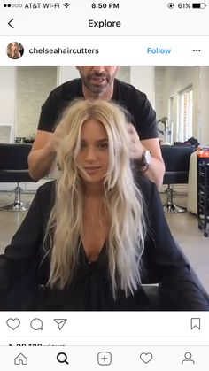 Hottest Blonde Hair Color Ideas, I Think You Will Like It - Page 17 of 23 - Dazhimen Blonde Hair Looks, Brown Blonde Hair, Dark Hair, Medium Blonde, Hair Streaks, Bright Blonde, Hair Shows, Grunge Hair, Great Hair