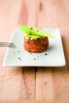 lachs avocado tatar mit dip vorspeise pinterest dips. Black Bedroom Furniture Sets. Home Design Ideas