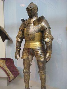 Armour for Henry VIII, given to Galiot de Genhouliac (1527)
