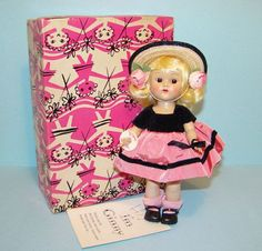 1954 Vogue Ginny Doll Candy Dandy Series #55 SLW Mint in Box Brown Eyes