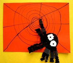 Check out student artwork posted to Artsonia from the Itsy Bitsy Spider Gr.1 project gallery at Wolf's Crossing.