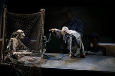 The Little Angel puppet theatre behind the scenes - in pictures