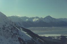 Craggy peaks.