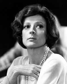 Dame Maggie Smith.