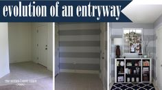 Evolution of an Entryway  - I love her site!