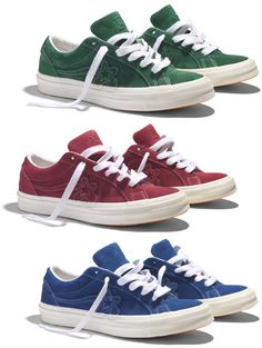 Brilhos da Moda: As nova Converse Golf Le Fleur