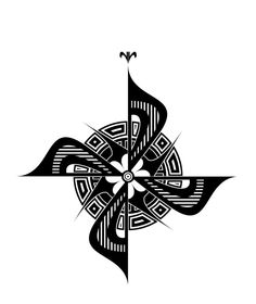 Compass Tattoo Concept