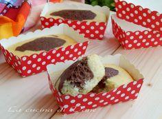 mini plumcake panna e cacao ricetta merendine fatte in casa soffici e golose. Ricetta per merendine per bambini da fare in casa. Dolci con la panna e cacao