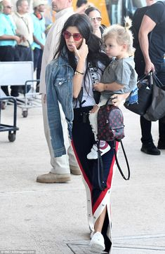 "Make first place like Kourtney in Gucci joggers Click ""Visit"" to buy #DailyMail"