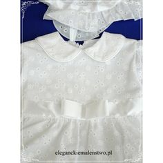 Ażurowa #sukienka do #chrztu jest bardzo subtelną propozycją #ubranka. Jest jednocześnie dziewczęca i elegancka. Sprawi, że Twoje maleństwo będzie wyglądać w niej odświętnie, ale bez przesadnego przepychu